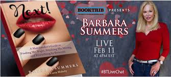 Live Chat: Barbara Summers and Next! Her High-Spirited Guide to Finding  Love — What Is That Book About
