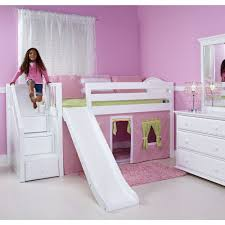 Princess Bunk Bed With Slide Design Triple Bunk Beds With Stairs And  Attractive Childrens Bunk Beds
