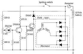 alternator voltage regulator schematic wiring diagram mega the electronic regulation of the automotive alternator alternator voltage regulator circuit alternator voltage regulator schematic