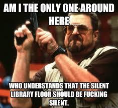 Kuvahaun tulos haulle library memes