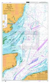 Admiralty Chart 1610 Approaches To The Thames Estuary