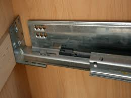 Cabinet Drawer Rails Kitchen Cabinets Drawer Slides Parts
