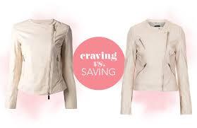 saving pink biker jacket