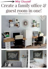 create a family office and guest room in one87 room