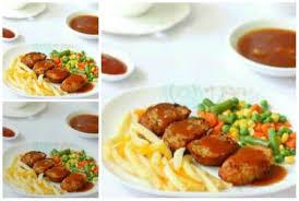 200 gr dada ayam, buang kulit, cincang garam dan merica. Resep Galantin Daging Sapi Saus Asam Manis County Food