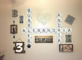 scrabble letters for wall scrabble letters home decor scrabble letters wall art unique scrabble wall tiles farmhouse decor aged distressed scrabble letters  on home decor wall art nz with scrabble letters for wall scrabble letters home decor scrabble
