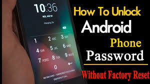 How To Unlock Android Pattern Lock Without Factory Reset