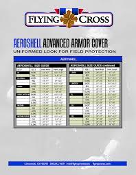 Flying Cross Size Chart Sizing Chart