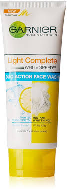 Garnier Light Complete Duo Action Face Wash
