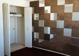 cork tiles wall check out this mirror and cork wall tile combo amazing cork bark wall cork tiles wall