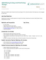 Sample Common Core Lesson Plan Magnificent Preschool Science Lesson Plans Education