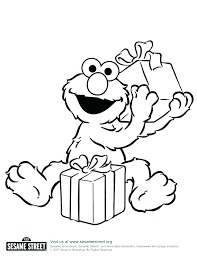 Coloring Pages Of Sesame Street Characters The Grouch Coloring Page