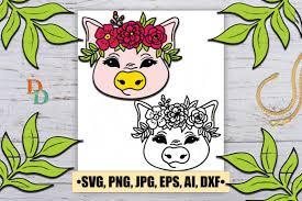 44 Pig Svg Designs Graphics