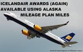 Alaska Mileage Plan Update Icelandair Awards Now Available