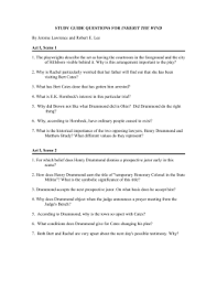 study guide inherit the wind study guide doc