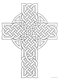 Cross Coloring Pages To Print Cross Coloring Pages Free Printable