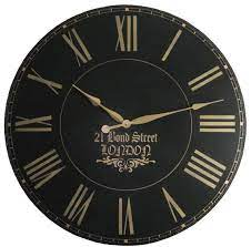 large wall clock 30 inch london towne