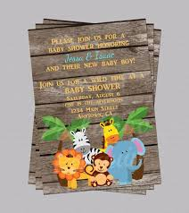 Safari Baby Shower Free Party Planning Ideas Food Games Baby Shower Jungle