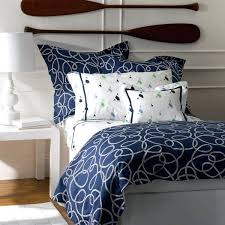 blue and white striped bedding navy baby red light