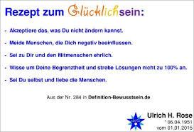 Rezept Zum Glücklichsein Von Ulrich H Rose