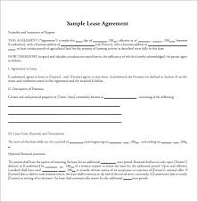 Hunting Rental And Lease Form Unique Farm Lease Agreement Template