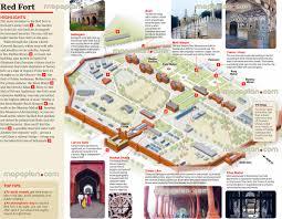 Hotel Delhi City Centre Red Fort Central Old Delhi City 3d Monuments Plan Historic City