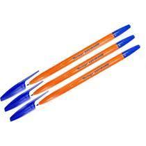 <b>Ручка шариковая Berlingo</b> H-20 Orange 1 мм синяя 3 штуки купить ...