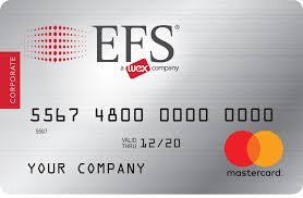 efs mastercard fleet card