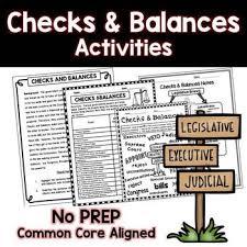 Checks And Balances Chart Answer Key Checks And Balances