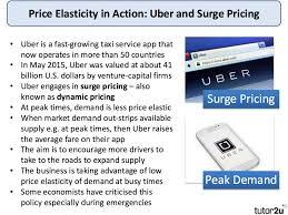 explaining price elasticity of demand economics an error occurred