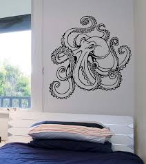 Small Picture Octopus Wall Decal Version 2 Vinyl Sticker Art Decor Bedroom