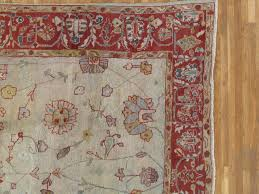 hand knotted antique persian sultanabad carpet handmade oriental rug light blue ivory