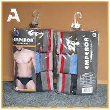 Men's brief <b>High Quality</b> Cotton <b>100</b>% cotton <b>3Pcs</b> in 1pack | Shopee ...