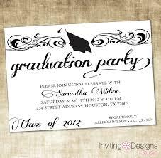 Graduation Party Announcement Graduation Party Templates Under Fontanacountryinn Com