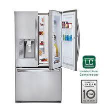 dual ice maker refrigerator. 29 Cu. Ft. Ultra Capacity Door-in-Door® 3-Door Dual Ice Maker Refrigerator R