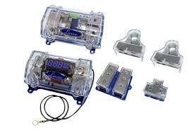 optikitcap optidrive gauge dual amplifier wire kit optikitcap0 on the road capacitors optidrive 0 gauge dual amplifier wire