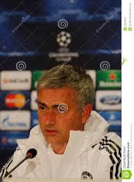 Jose Mourinho Di Chelsea - Conferenza Stampa Fotografia Editoriale -  Immagine di chelsea, sport: 34042642