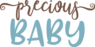 Precious Baby SVG Cut File - Snap Click Supply Co.