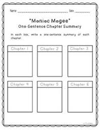 Maniac Magee Plot Chart 8 Best Book Club Images Maniac Magee 6th Grade Reading