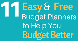 Free Budget Planners 11 Easy And Free Budget Planners To Help You Budget Better High