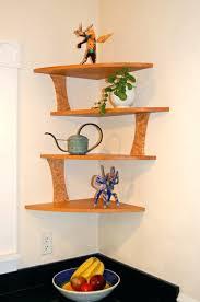 corner shelves for wall modern design for wall mounted corner shelves wooden corner within wood corner