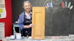 How To Paint Your Kitchen Cabinets With Chalk Paint Youtube