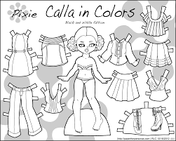 Browse our selection of paper dolls printables and find your favorites. 9 Best Printable Paper Dolls To Color Printablee Com