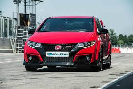 civic 2015 type r. 2015 honda civic type r red front track carwitter