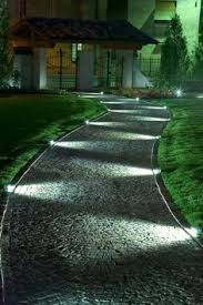 Walkway lighting ideas Pathway Lighting Create Lovely Patterns In Your garden At Night With Light Like This Using Led Walkway Lighting Pinterest 10 Outdoor Lighting Ideas For Your Garden Landscape 5 Is Really