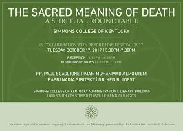 the sacred meaning of a spiritual roundtable