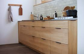 kitchen wood furniture. Snedker-japanese-wood-kitchen-flat-front-custom Kitchen Wood Furniture W