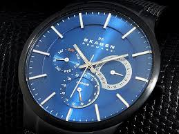 wellcode rakuten global market skagen in skagen watches mens skagen in skagen watches mens men s watch titanium 809 xltbn black blue black times blue