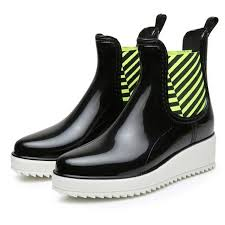 noopula ankle boots fishing shoes waterproof boot shoes women flat garden fishing las clogs boots rubber hunting rain woman