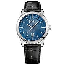 hugo boss watches boss watches uk ernest jones hugo boss men s stainless steel strap watch product number 5006937